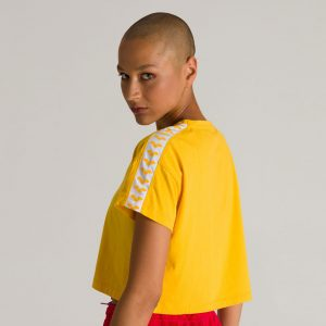 Arena Corrine Yellow Cropped T-shirt
