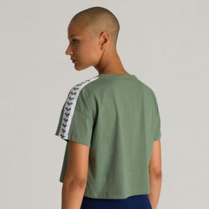 Arena Corrine Army Green Cropped T-shirt