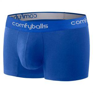 Comfyballs Blue Cotton Boxer - Regular