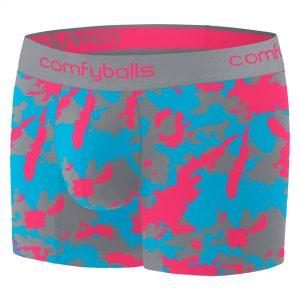 Comfyballs Camo Steel Cotton Boxer - Long
