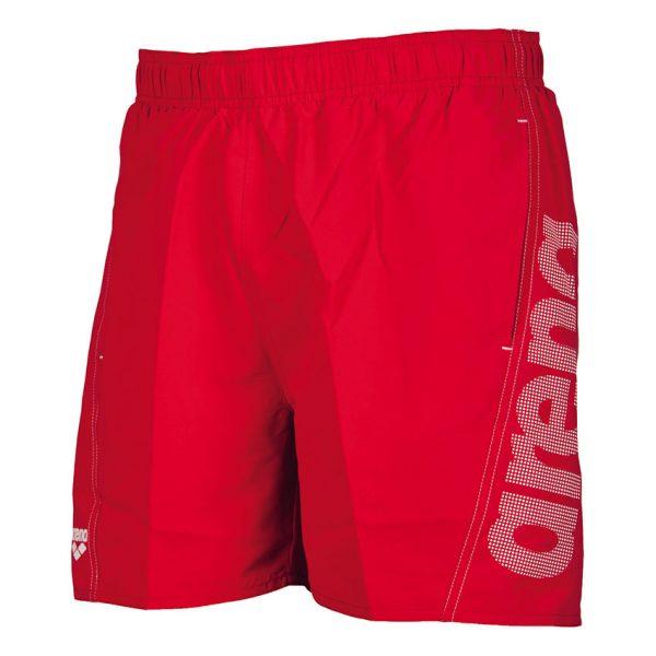 Arena Fundamentals Beach Shorts - Red