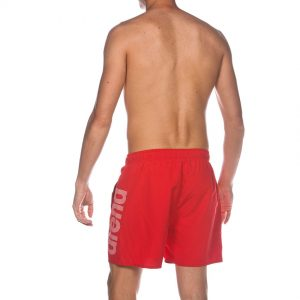 Arena Fundamentals Beach Shorts - Red