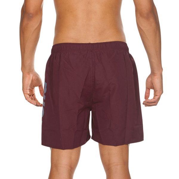 Arena Fundamentals Beach Shorts - Red Wine