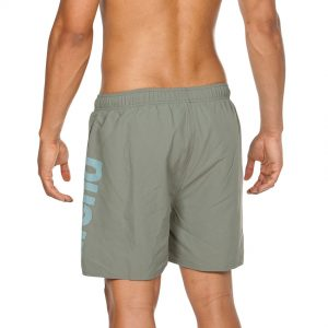 Arena Fundamentals Beach Shorts - Army Green