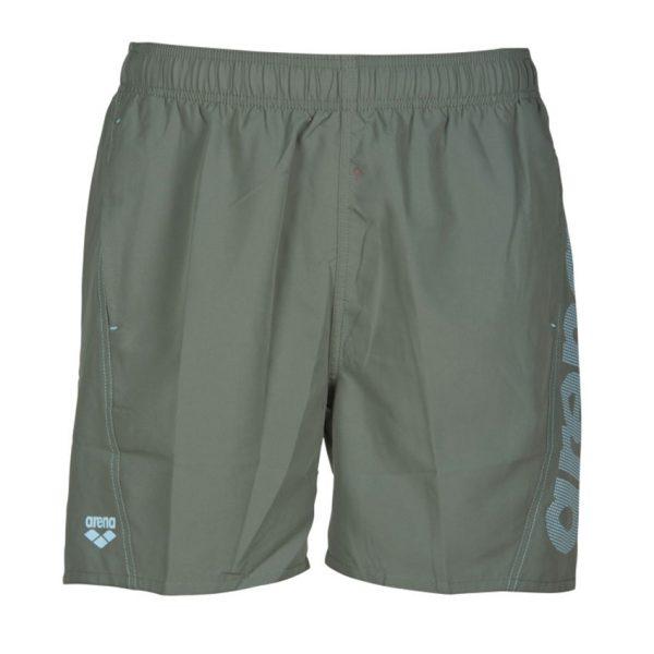 Arena Fundamentals Beach Shorts - Army Green