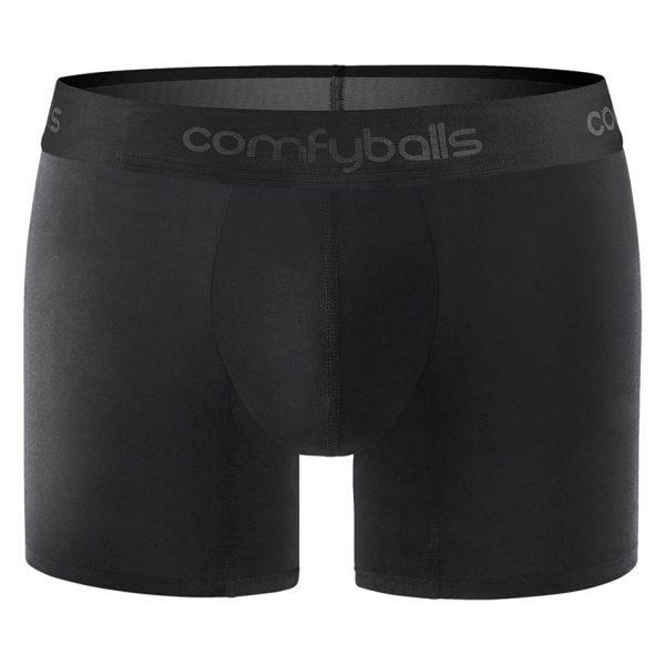 Comfyballs Black Wood Boxer - Long