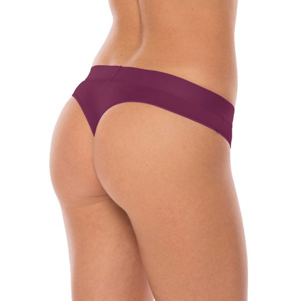 Ladies Comfy Wood String - Purple