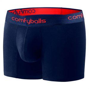 Comfyballs Navy Performance Boxer - Long