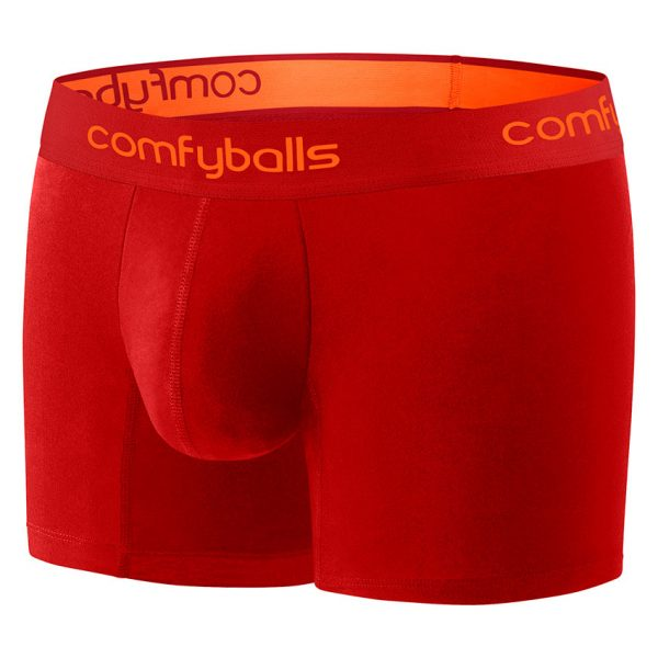 Comfyballs Red Performance Boxer - Long