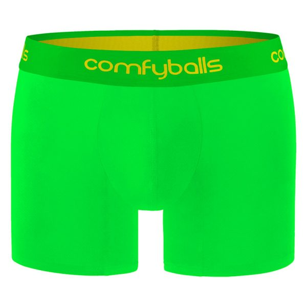 Comfyballs Lime Performance Boxer - Long