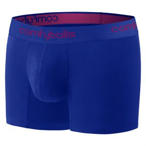 Comfyballs Cotton Boxer - Blue Long