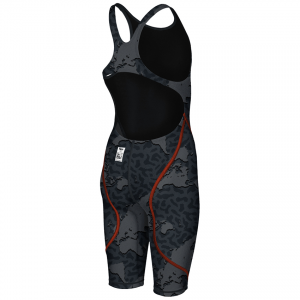 LIMITED EDITION Arena JUNIOR ST 2.0 Suit - Grey Map