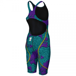 LIMITED EDITION Arena JUNIOR ST 2.0 Suit - Purple Map