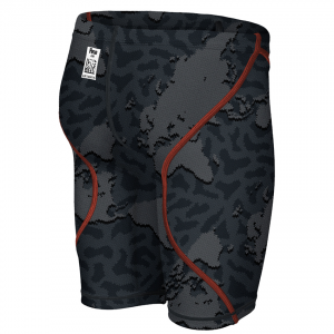 LIMITED EDITION Arena JUNIOR ST 2.0 Jammers - Grey Map