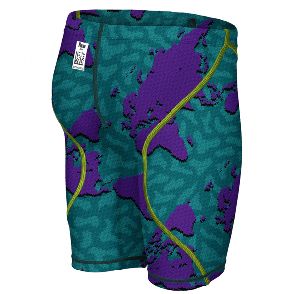 LIMITED EDITION Arena JUNIOR ST 2.0 Jammers - Purple Map