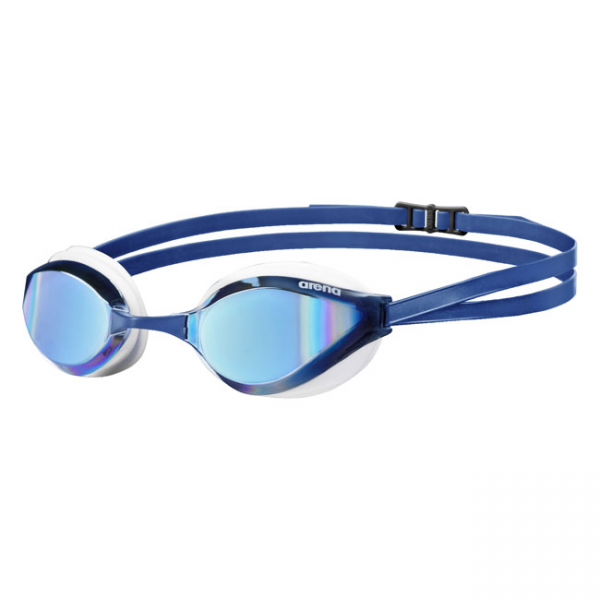 Arena Python Mirrored Goggles Blue White