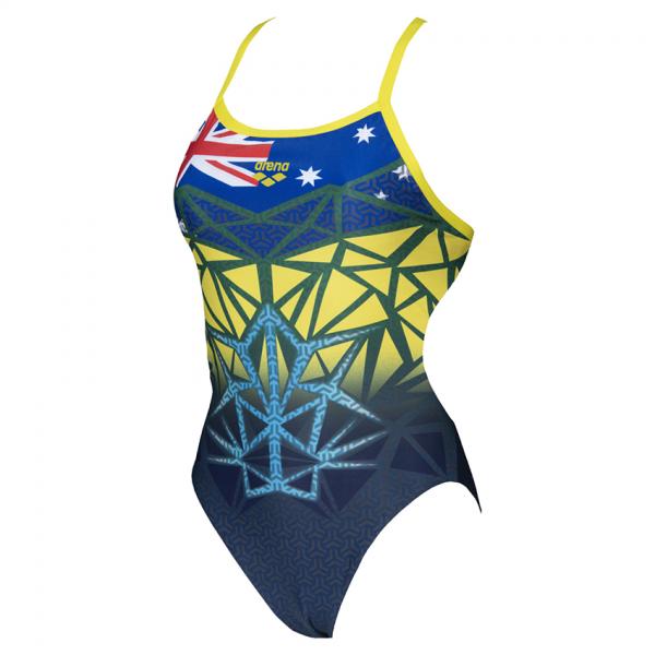 Arena Bishamon High Leg Swimsuit - Australia