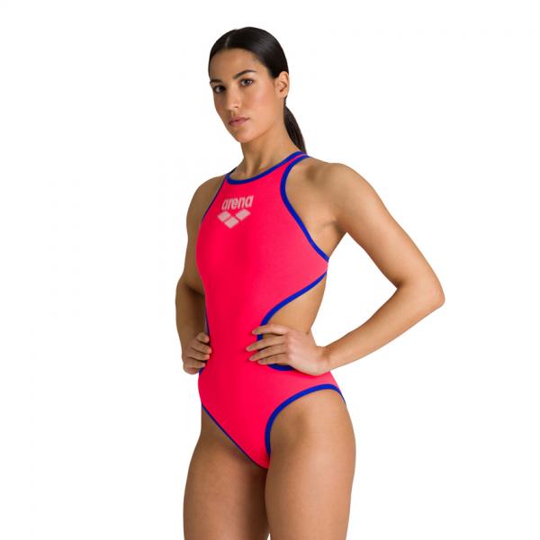 Biglogo Arena ONE Fluo Red Swimsuit