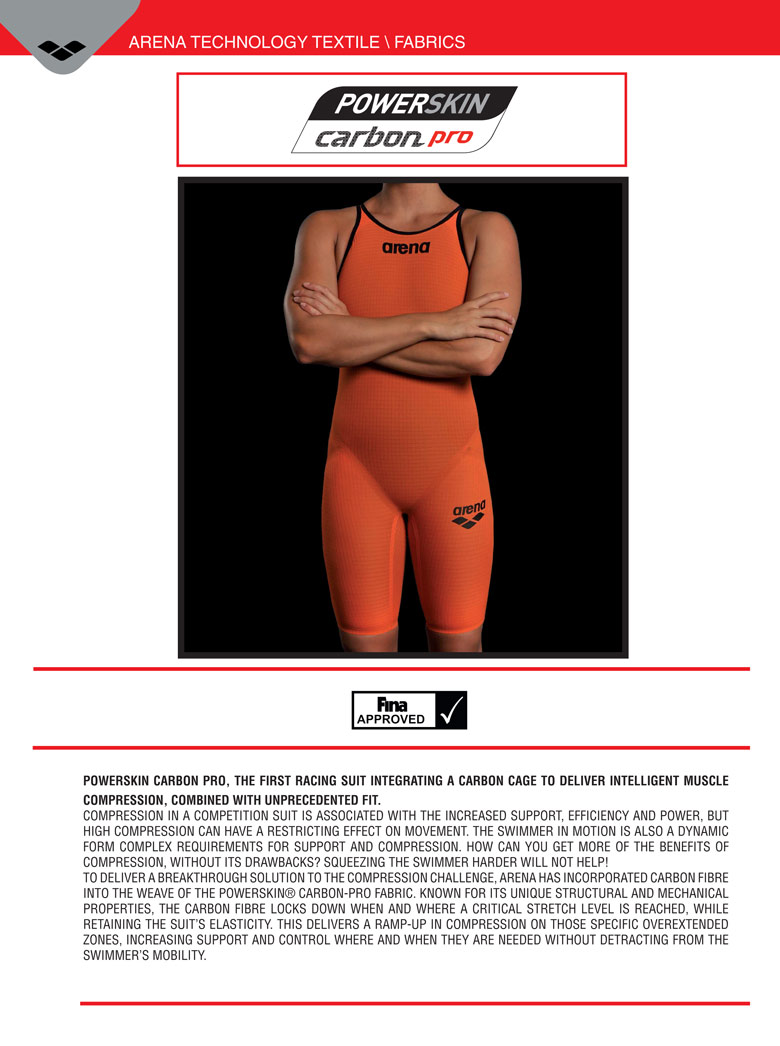 Arena Carbon Pro Tri Material technology